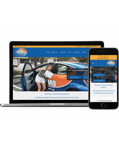 Driving School FREE Mobile Friendly Website